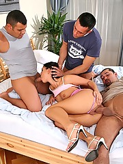 Linda Ray - Foursome on, Eurosexparties.com - Reality Kings