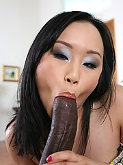 Bella Ling  Takes On A Monster Black Cock - www.mrbiggz.com