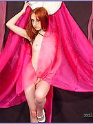 Liz Vicious - amazing redhead cute girl undressing and posing and showing her nice sweet body