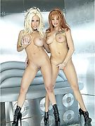 Gina Lynn and Bella Donna gets it on