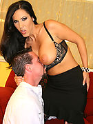 Office slut Veronica Rayne Dominating Bitch Boy