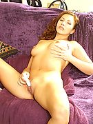 Club Strawberry: Redheads, Strawberry Blondes, Auburn Haired Babes...Hot redhead babe toying her clit