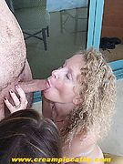 CreamPie Cathy - internal cumshots (vaginal creampie and anal creampie) with creampie pictures, creampie video clips, creampie video reviews, amateurs, wives, and more. The Queen of internal cum shots (creampies).