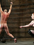 Bizarre femdom spanking and strapon fucking ( redhead mistress ) - free picture gallery