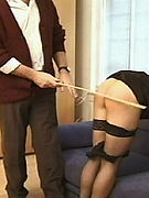Perfect Spanking:  - Cruel spanking couple loves to humiliate girls