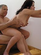MyOlderLovers.com :: Older lovers fucked sexual small tits girl at home