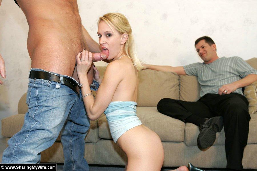 Смотреть порно жену ебут муж смотрит