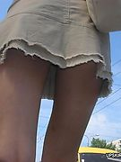 UpsirtCollection.com - Girls show you their crotches without even knowing that!