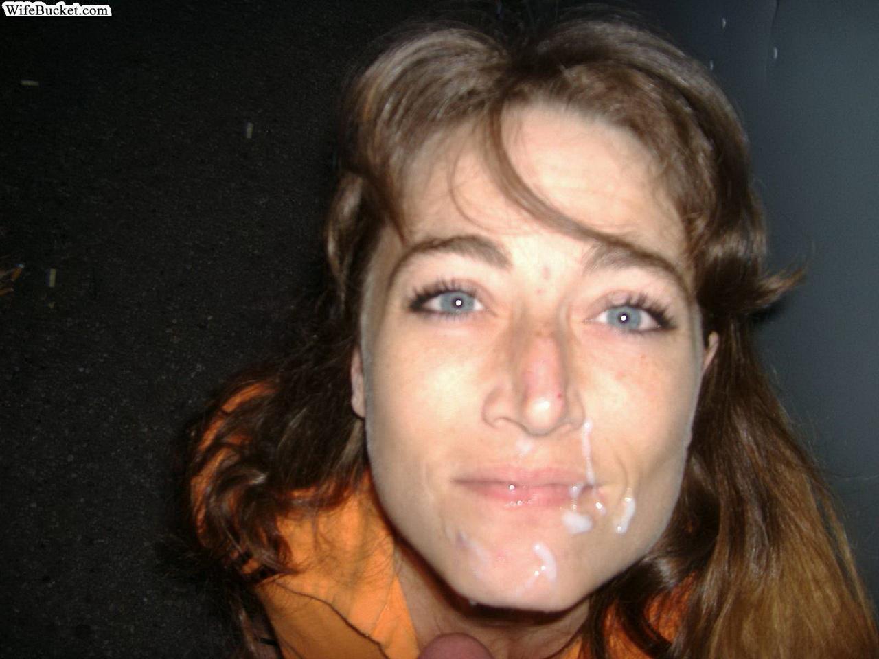 Сперма у жены на лице 19 фотография