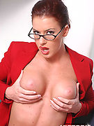 Victoria Redd - Victoria Redd playing the secretary!
