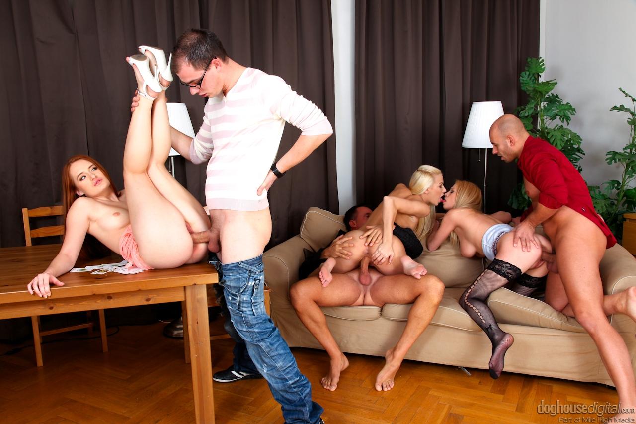 Супер груповая порно оргия 6 фотография