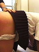 Perfect Spanking:  -  English schoolgirls never seem to learn