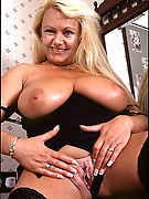 Soccer Moms-Blonde mature with big naturals